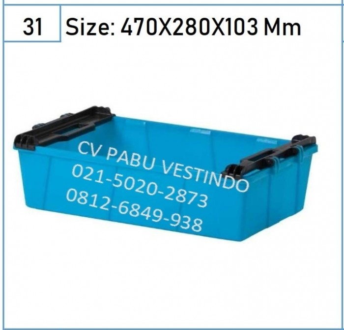 6077 Keranjang Box Container