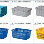 Box Container Plastik Keranjang Industri