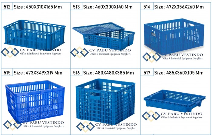 Jual-Box-Container-Keranjang-Plastik-Industri-serbaguna-Berlubang-Green-Leaf-Rabbit-_3 Tahu Manfaat Container Reefer Utk Usaha