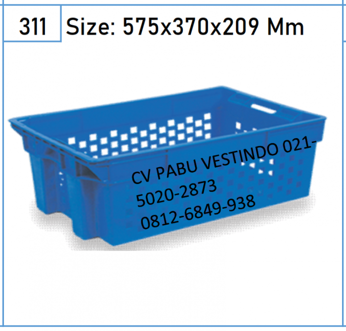 2201 Keranjang Box Container