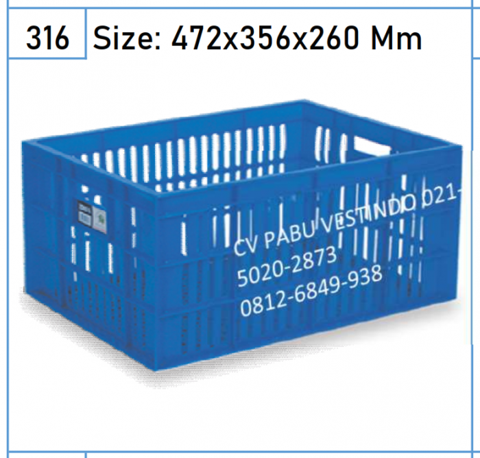 2203 Keranjang Box Container