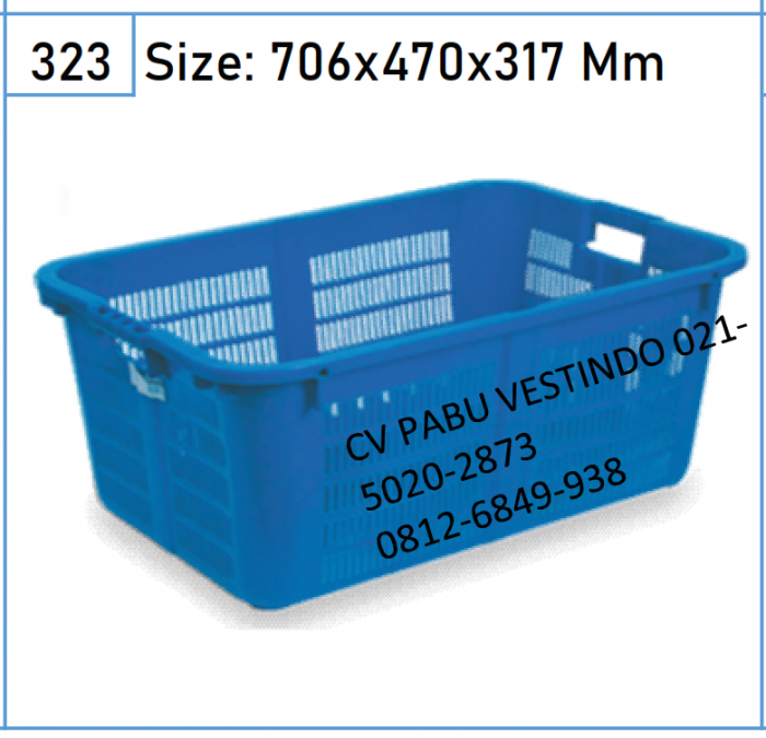 2207 Keranjang Box Container