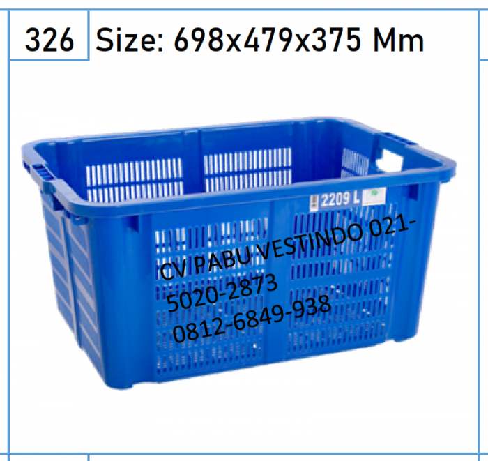 2209 Keranjang Box Container