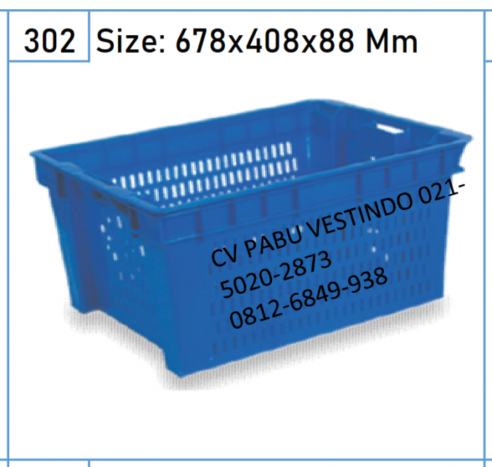 2220 Keranjang Box Container