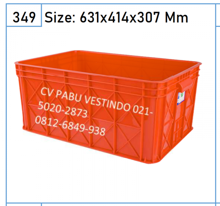 2227 Box Keranjang Container