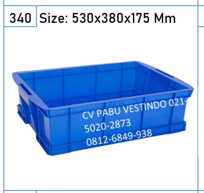 2230 Box Keranjang Container