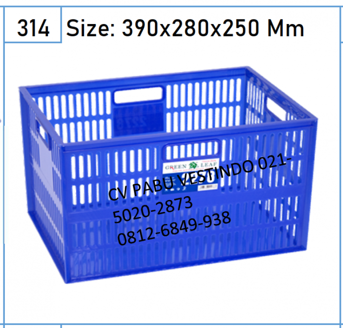 2278 Keranjang Box Container