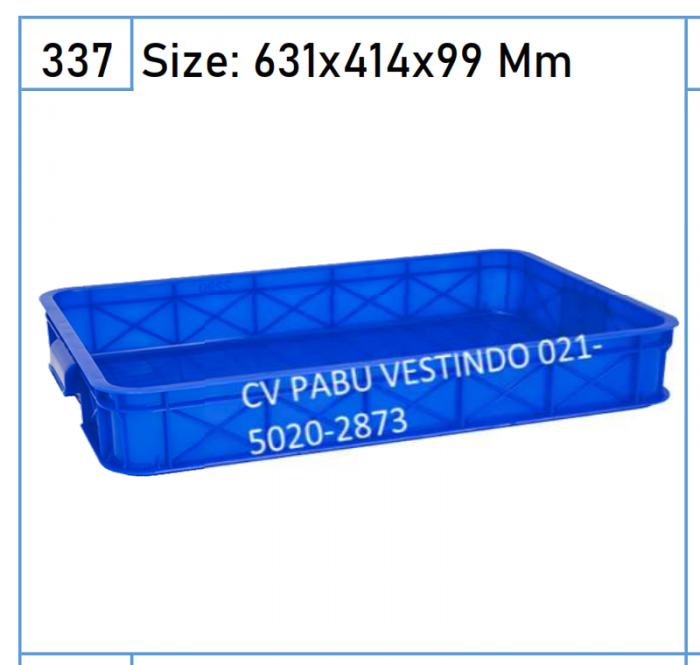 2290 Box Keranjang Container