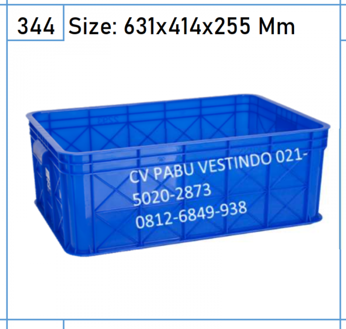 2293 Box Keranjang Container
