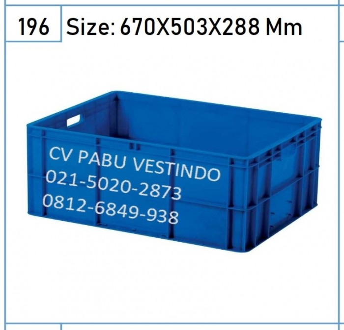 6676 Box Container Rapat