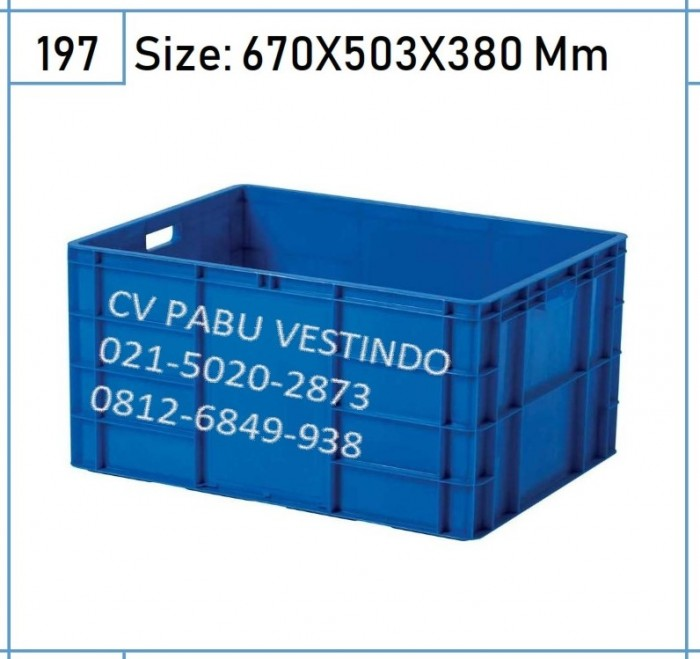6678 Box Container Rapat